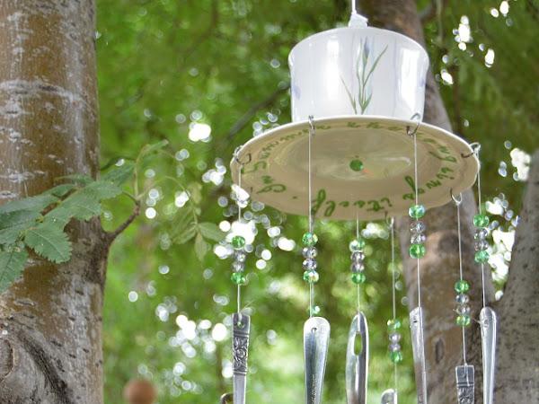 How To Make Whimsical Silverware Wind Chimes