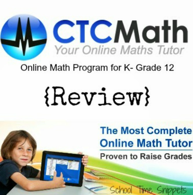 CTC Math Review at School Time Snippets