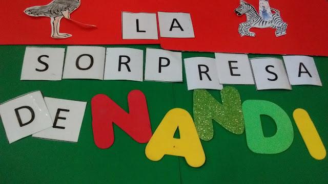 Formar palabras con letras móviles