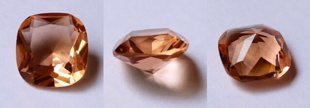 Champagne_Color_Cubic_Zirconia_Cushion_Cut_China_Wholesale