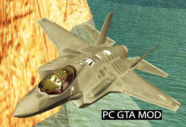 Free Download Lockheed Martin F-35A Lighting V2 Mod for GTA San Andreas.