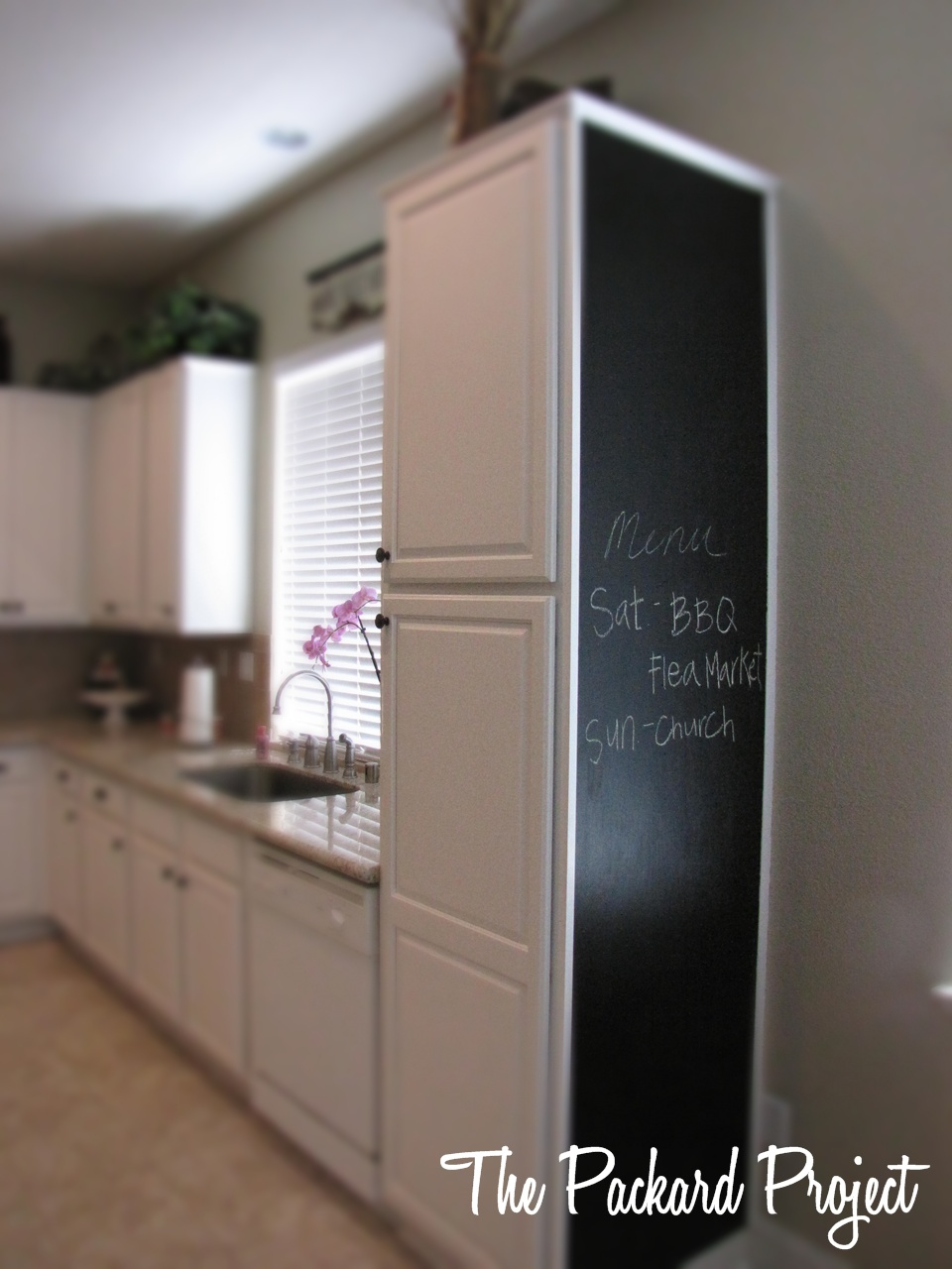 The Packard Project Kitchen Cabinet Magnetic Chalkboard