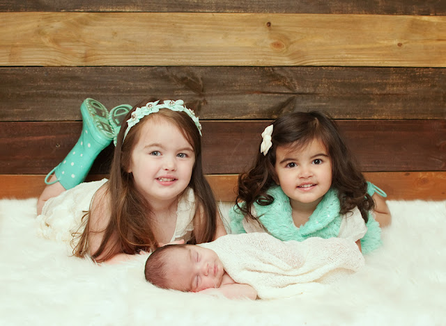 Newborn siblings