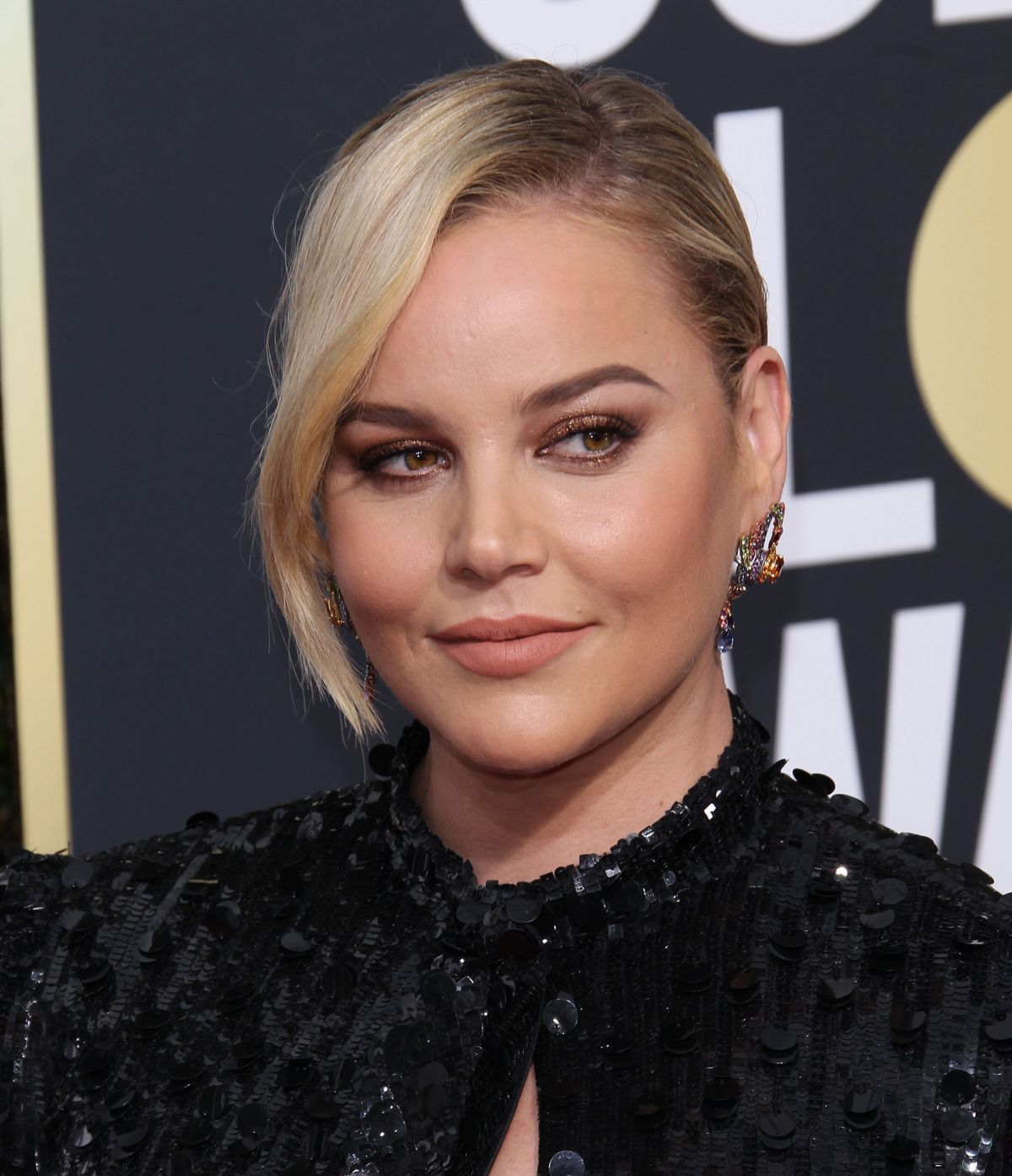 Abbie Cornish At 75Th Annual Golden Globe Awards In Beverly Hills