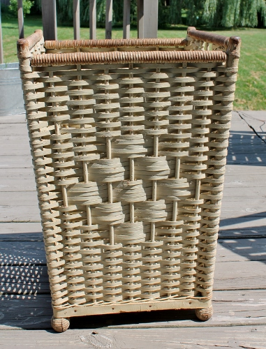 antique hamper