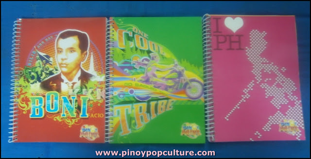 Pinoy Pride, notebook