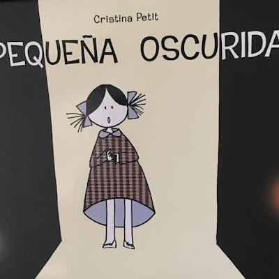 Pequeña Oscuridad, Cristina Petit, album ilustrado, picarona, ediciones obelisco, Piccolo buio,