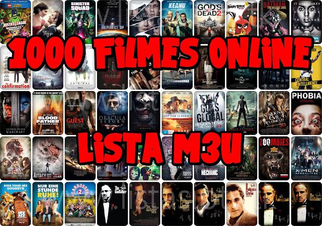 Lista M3U: 1000 Filmes Dublados Online para Assistir no KODI/IPTVPro/PlayList TV/VLC e Outros [Rede de Canais]