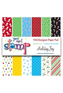 Designer Paper Pad Holiday Joy