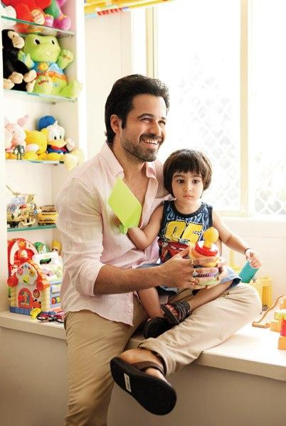 Emraan Hashmi with son Ayaan new photo