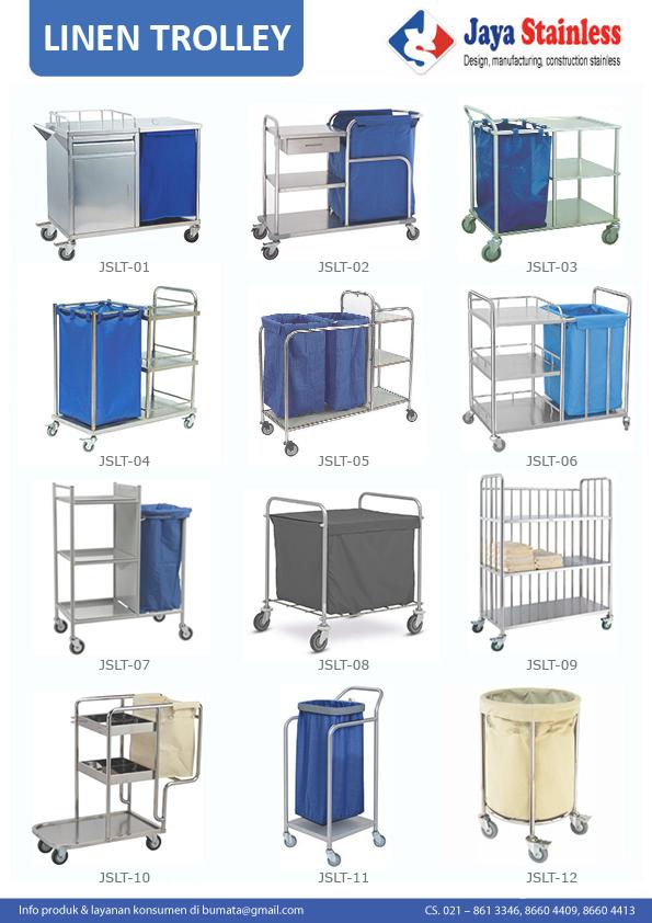 Katalog Linen trolley
