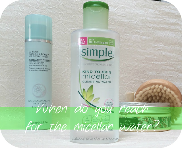 using micellar water