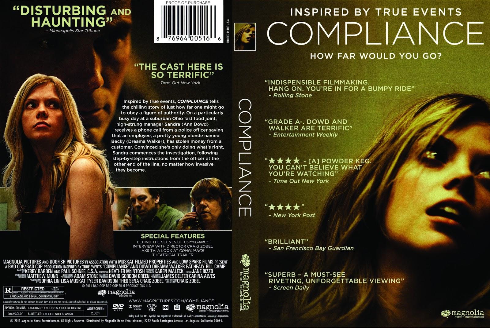 053d46f12c COMPLIANCE (2012) LA PELÍCULA: OBEDIENCIA A LA AUTORIDAD, COMO EXCUSA DE LA  CRUELDAD. - INCLUYE PELÍCULA VÍA YOUTUBE