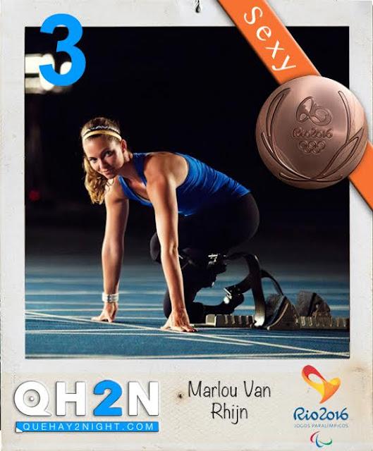 rio 2016 hot atleta Marlou Van Rhijn fotos