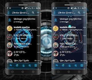 BBM Droid Chat! v13.2.13 Futuristic Theme Based v3.1.0.13 Apk Terbaru