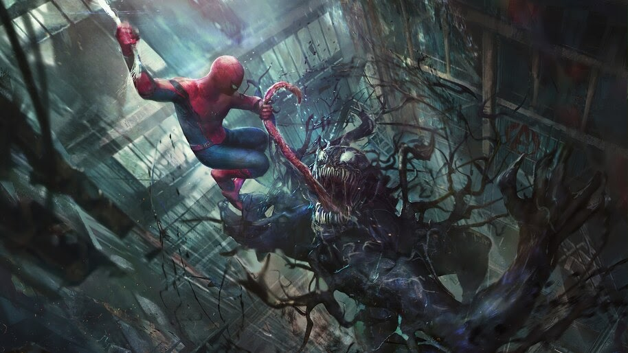 Spider-Man vs Venom, 4K, #4.2301