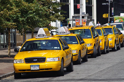 taxi new yorkais