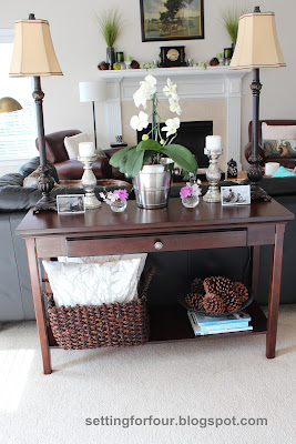 How To Style A Sofa Table Use Define Your