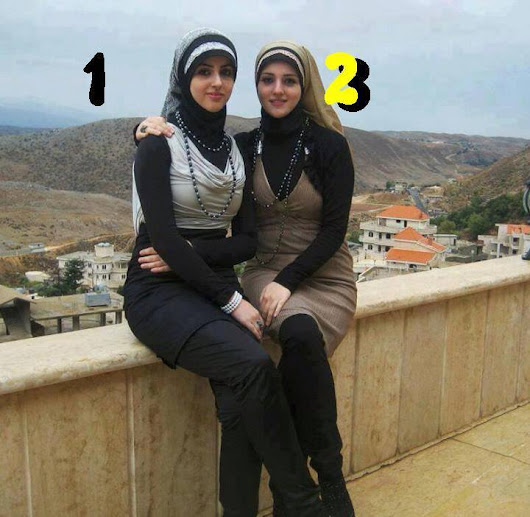 Pretty KSA Girls , Select Your Choice In No. 1, 2 حدد اختيارك