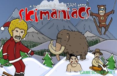 Play Ski Maniacs Game