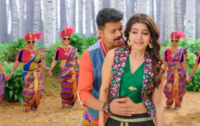 Chella Kutti Song Promo Video | Theri | Vijay, Samantha, Amy Jackson | Atlee | G.V.Prakash Kumar