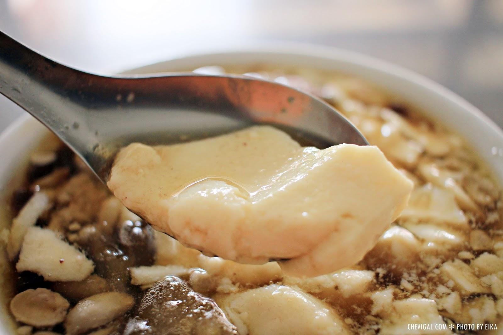IMG 0076 - 台中烏日│市場豆花。清涼消暑好選擇。口感綿密的古早味豆花。也吃得到濃濃黃豆香氣唷