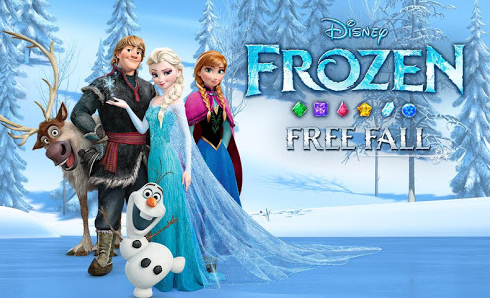 Download Frozen Free Fall Mod Apk Infinite Lives