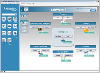 Comparative Analysis of Labii and LabWare in ELN & LIMS - LabWare 7 Interface