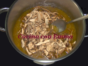 Sopa de shiitake y sabor a mar_9