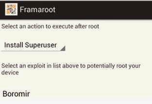 Root Acer Liquid Z3 dengan Framaroot