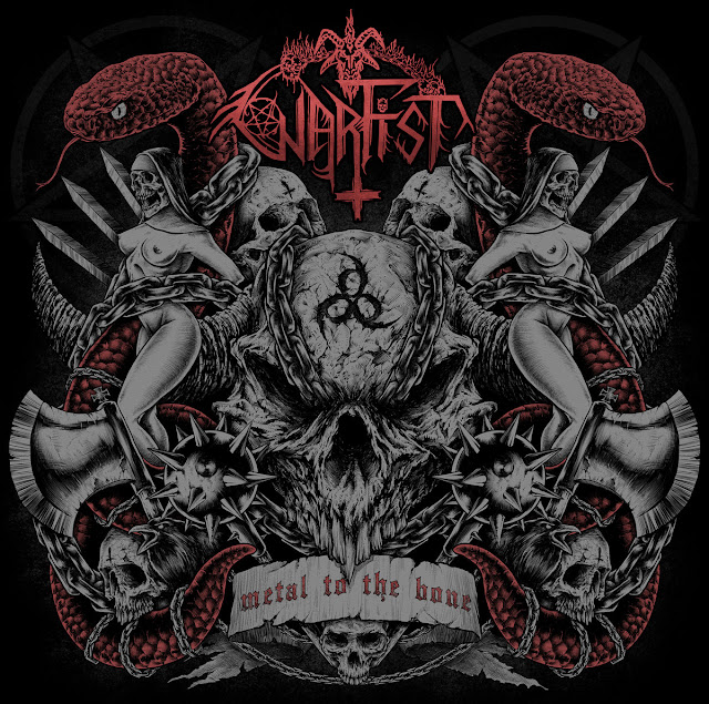 Detail from Warfist New Album, Metal to the Bone, Detail from Warfist New Album Metal to the Bone