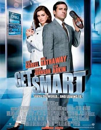 Poster Of Get Smart 2008 Dual Audio 130MB BRRip HEVC Mobile ESubs Free Download Watch Online Worldfree4u