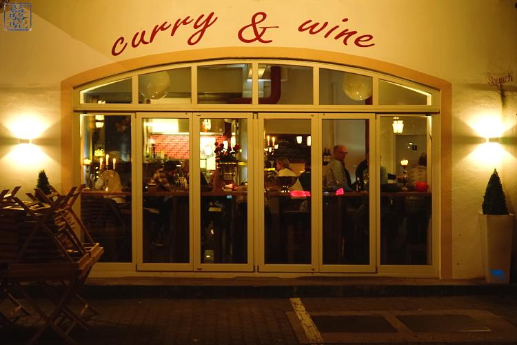 Le Chameau Bleu - Restaurant Curry and Wine au bard de du Neckar