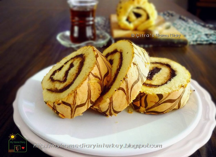 Nutella Roll Cake Recipe