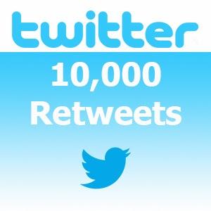Buy 10000 Twitter Retweets