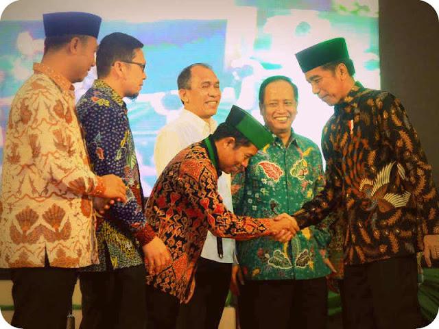Presiden Jokowi Hadiri Kongres ke-30 Himpunan Mahasiswa Islam (HMI)