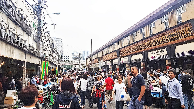 Tsukiji Market - outer market