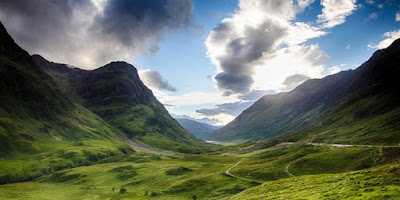 Meet Will Damron in this Debut Author Spotlight ~ Glen Coe, Scotland