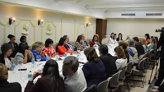 Ministra de la Mujer encabeza reunión Iniciativa de Paridad de Género