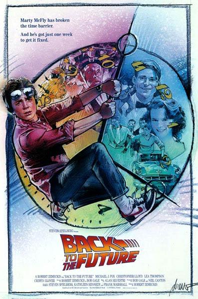 Regreso al futuro Poster Drew Struzan 5