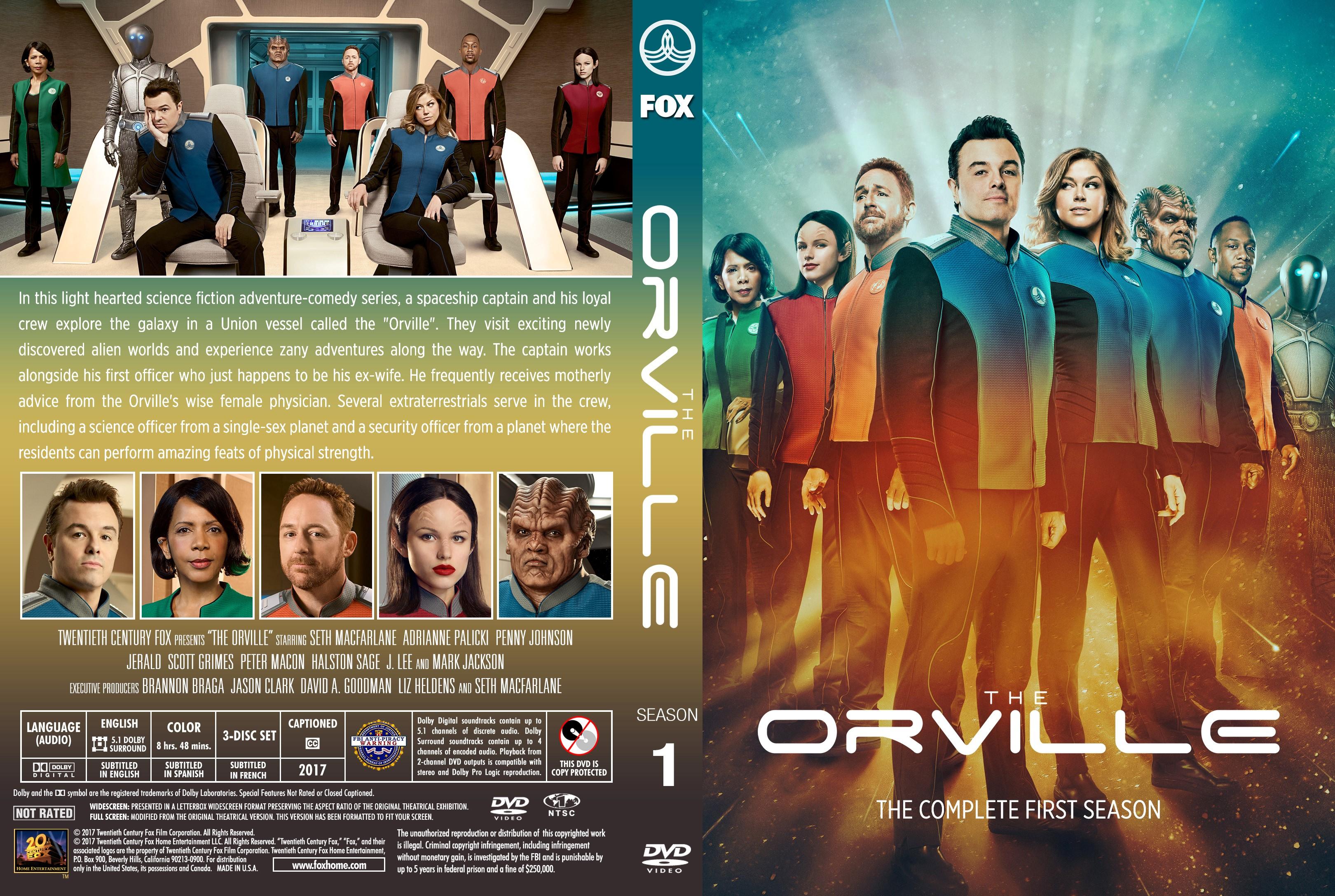 Orville Season 1 Dvd Cover Cover Addict Dvd Bluray