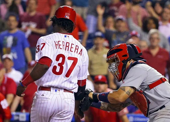 Philadelphia Phillies fall to the Cardinals; Odubel Herrera thrown out in ninth
