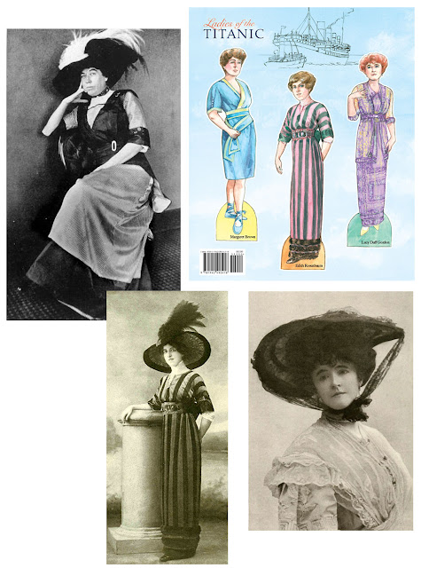 Ladies of the Titanic Paper Doll