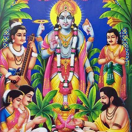 The Story Read on Satyanarayana Puja