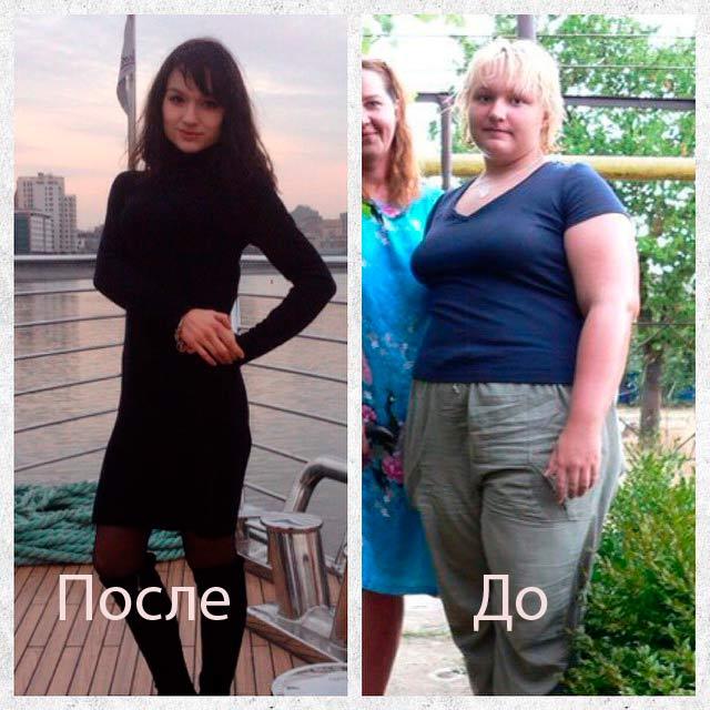Похудеть на 20 кг за полтора месяца