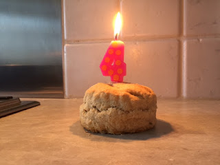 National Trust scone blog fourth birthday