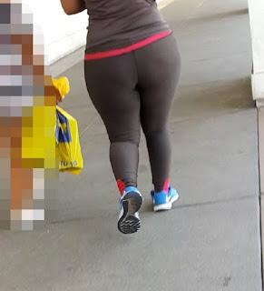 Linda chava caderona calzas deportivas