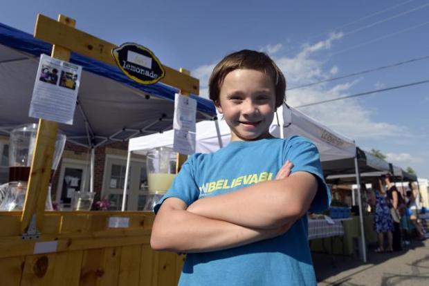 Menino de 10 anos recebe investimento de bilionário