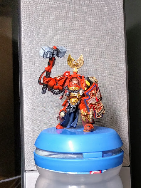 Nearly finished Sergeant Gideon