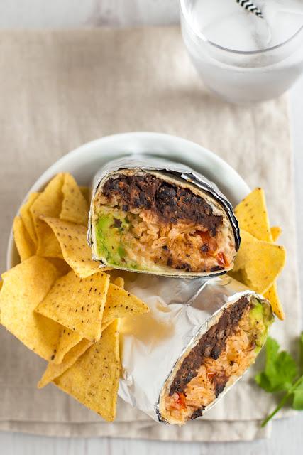 BBQ Bean Burritos
